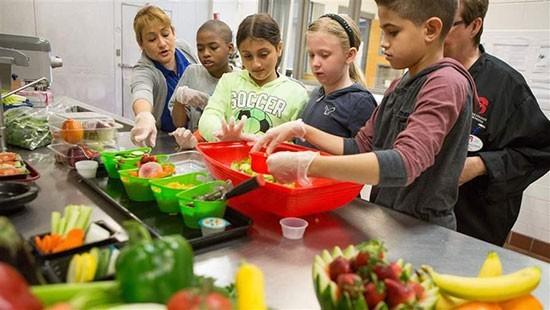 بهداشت مواد غذایی در مدارس