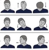 تمرینات ارگونومی برای گردن