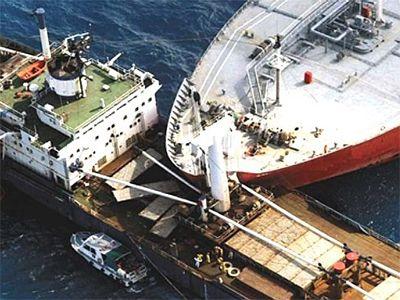 نمونه حوادث کشتی