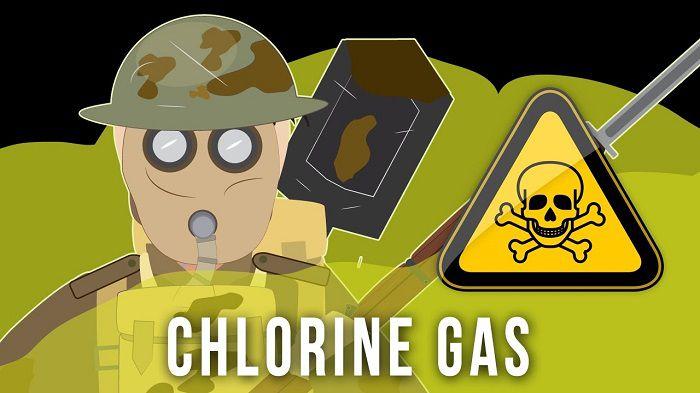 سم شناسی گاز کلر Cl