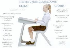 تاثیر میز و صندلی در نشستن