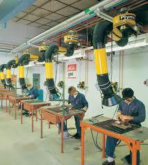 طرحی تهویه صنعتی
