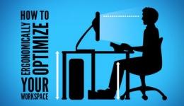 انتخاب وضعیت بدن هنگام کار