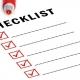 چک لیست های ایمنی و بهداشت