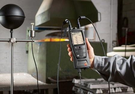 تعیین شاخص گرمایی WBGT
