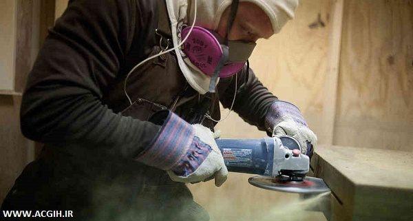 تعیین میزان مواجهه با گرد و غبار سیلیس آزاد