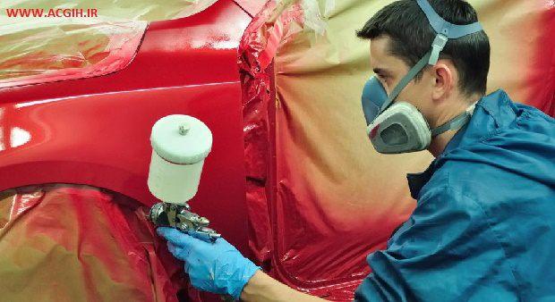 میزان مواجهه نقاشان اتومبیل با ترکیبات آلی فرار و ارتباط آن با شیوع عوارض سابجکتیو