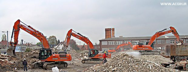 کارهای تخریب - عملیات تخریب