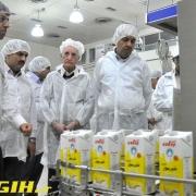 بهداشت حرفه ای در کارخانه شیر پگاه زنجان