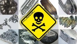 سم شناسی فلزات