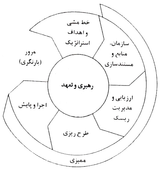 مدل نظام مدیریت بهداشت ایمنی و محیط زیست (hse ms)