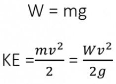 محاسبه انرژی جنبشی