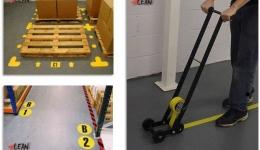 نمونه سیستم 5s-5 در محیط کار