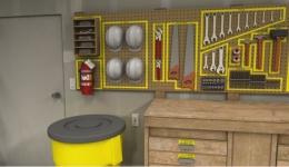 نمونه سیستم 5s-7 در محیط کار