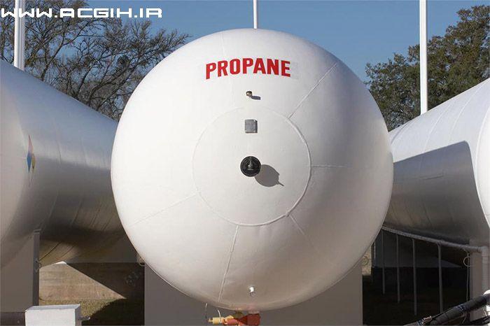 گاز پروپان - PROPANE