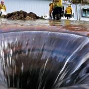 خطرات چاه فاضلاب