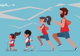 کاهش عوامل خطر بیماریها با فعالیت جسمانی