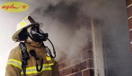 ایمنی کار کردن آتش نشانان در دود و تاریکی