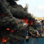 وسایل اطفاء حریق در کشتی