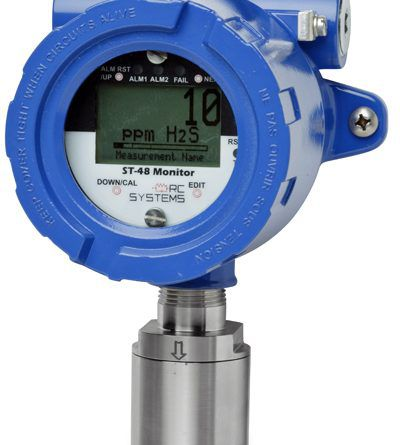 سیستم سنجش گاز ثابت (دتکتورهای قابل نصب در محل)
