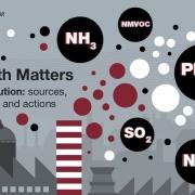اثر انواع مواد آلاینده هوا بر روی گیاهان و انسان ها