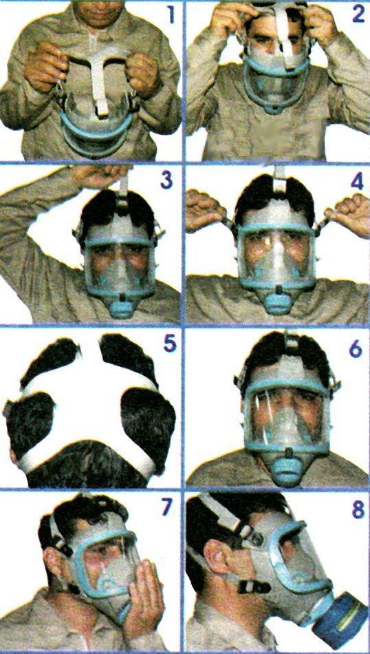 آموزش بستن ماسک تنفسی
