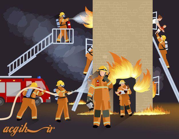 فرماندهی حریق در ساختمان های بلند