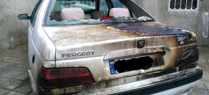 ایمنی حریق در خودرو