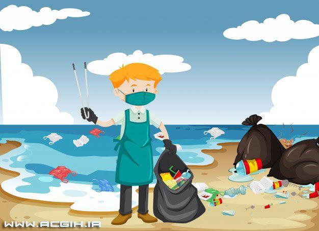 تمیز کردن ساحل
