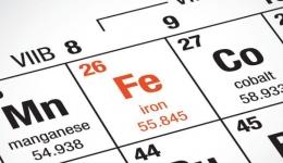 سم شناسی آهن (fe)