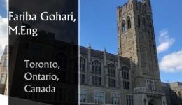 مصاحبه با خانم مهندس فریبا گوهری از دانشگاه تورنتو کانادا