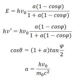 فرمولهای کمپتون