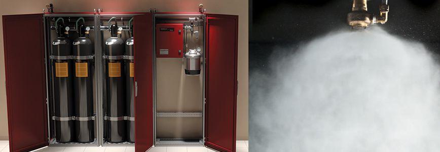سیستم اطفاء حریق اتوماتیک ورتکس (vortex)