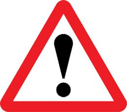 علامت خطر