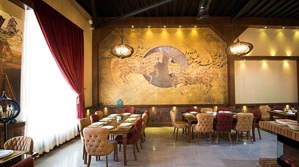فضای کافی سالن پذیرایی رستوران