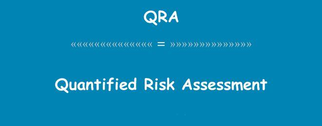 ارزیابی ریسک به روش QRA