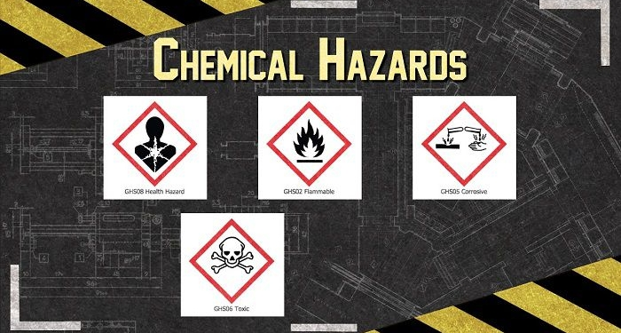 خطرات مواد شیمیایی