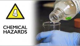 خطرات بهداشتی ناشی از مواجهه با مواد شیمیایی