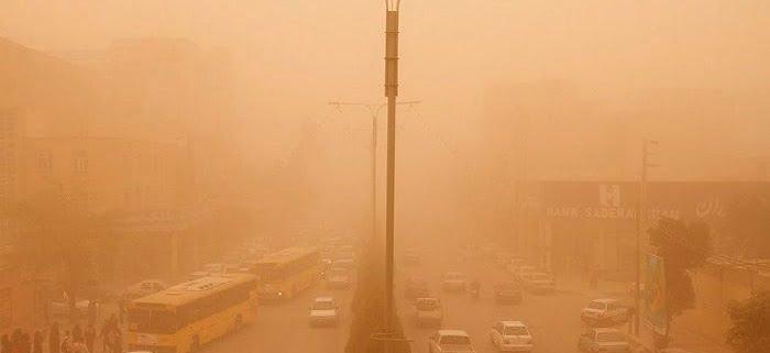 بررسی منشاء ریزگردها و تاثیر آن بر آلودگی هوا