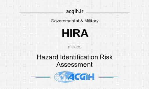 شناسایی خطرات و ارزیابی ریسک (HIRA) در پتروشیمی
