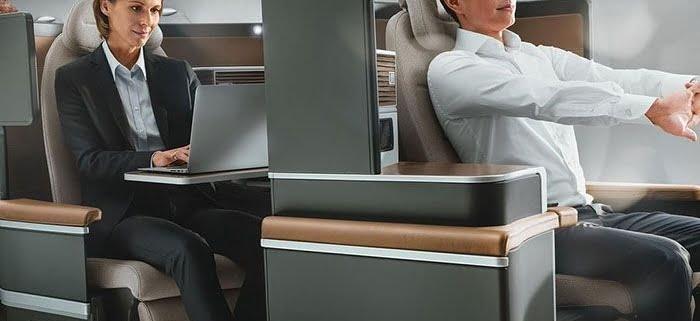 ارگونومی صندلی مسافران هواپیما