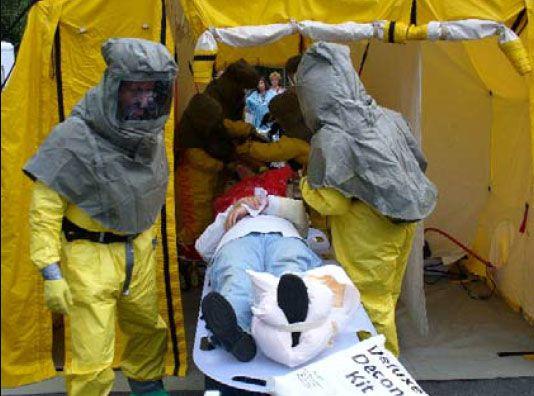تیم های ویژه عکس العمل و برپایی چادر اضطراری