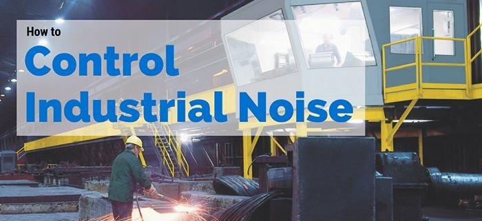 کنترل صدا در صنایع