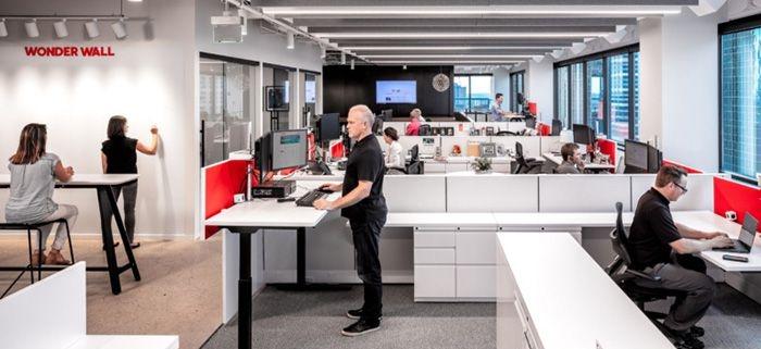 ارگونومی در معماری داخلی محیط اداری