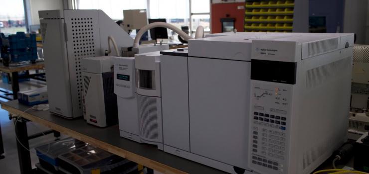 دستگاه گاز کروماتوگرافی طیف سنجی جرمی با بازيافت حرارتی (GC/MS-TD)