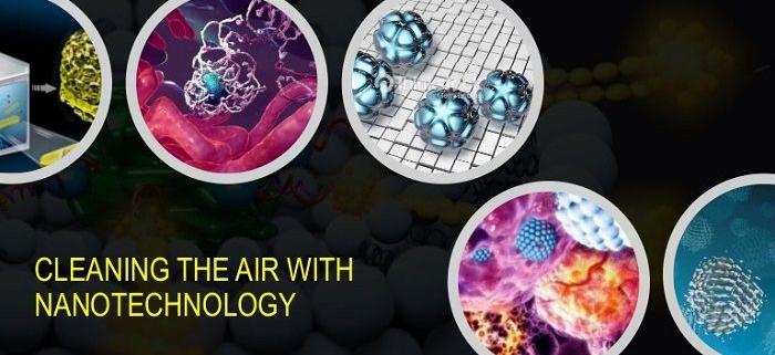 تصفیه هوا با کمک فناوری نانو و خود تمیز شونده ها (نانو فوتوکاتالیست ها)