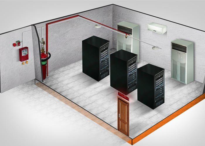 نکات اجرایی و کاربردی مهم در خصوص طراحی و اجرای سیستم های اعلام و اطفای حریق در اتاق های سرور